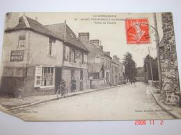 C.P.A.- Saint Fraimbault Sur Pisse (61) - Bureau De Tabac Gasnerais - 1927 - TB (BL 1) - France