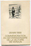 RC 12682 FRANCE 50e  VERDUN 1914 - 1918 ANNIVERSAIRE DE LA VICTOIRE - 1960-1969