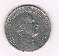 2 LIRE 1926 R ITALIE/4238// - 1900-1946 : Victor Emmanuel III & Umberto II