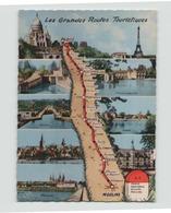 LES GRANDES ROUTES TOURISTIQUES PARIS MOULINS - Maps