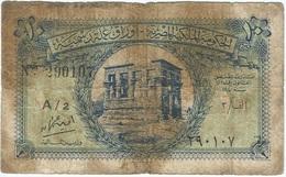 Egipto - Egypt 10 Piastres 1940 Pk 167 B Serie Fraccional Ref 3409-2 - Egipto