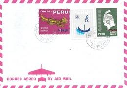 Airmail Brief  Lima Callao            1978 - Peru