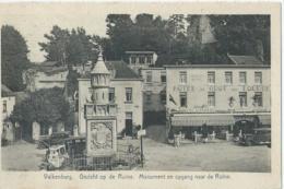 Valkenburg - Gezicht Op De Ruïne - Monument En Opgang Naar De Ruïne - Uitg. G. Bours - 1952 - Valkenburg