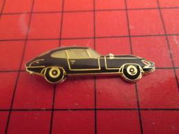 412a Pin's Pins / Beau Et Rare / THEME : AUTOMOBILES / JAGUAR TYPE E NOIRE - Jaguar
