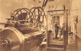 Le Charbonnage - Vue Arrière D'une Machine D'extraction - Mines