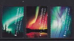 Finland 2009, Aurora Borealis, Northernlight, Complete Set, Vfu. Cv 4,80 Euro - Oblitérés