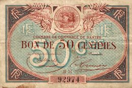 6950-2019    BILLET CHAMBRE DE COMMERCE  DE   NANTES - Chamber Of Commerce