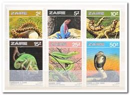 Zaïre 1987, Postfris MNH, Reptiles - 1980-89: Ongebruikt