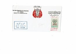 DIV1 -  YEMEN LETTRE AFFRANCHIE A 6b CIRCULEE - Yémen
