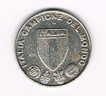 // ITALIA CAMPIONE DEL MONDO - 12 CAMPIONATO DEL MONDO SPAGNA 1982 - Pièces écrasées (Elongated Coins)