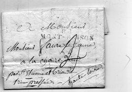 """Linéaire """"88 MONT BRISON""""L.A.C. Du 6/10/1816. - 1801-1848: Precursors XIX"""