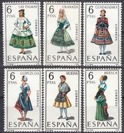 ESPAÑA - SPAGNA - SPAIN - ESPAGNE- 1968 - Serie Completa Di 6 Valori Nuovi MNH: Yvert 1524/1529. - 1931-Oggi: 2. Rep. - ... Juan Carlos I