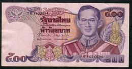 THAILAND P91 500 BAHT 1988  #7E Signature 62 VF NO P.h. - Thailand