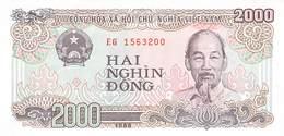 2000 Dong Vietnam 1988 - Vietnam