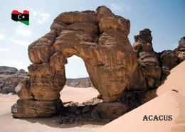 Libya Acacus Mountains UNESCO New Postcard Libyen AK - Libia