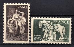 FRANCE 1943 - LOT 2 TP NEUFS**  Y.T. N° 585 / 586 / - France