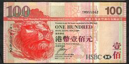 HONG-KONG P209f 100  DOLLARS 1.1.2009  #TM  HSBC VF NO P.h. - Hong Kong