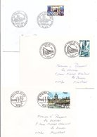 FRANCE LOT DE 21 FDC DIFFERENTES AYANT VOYAGEES. - Timbres