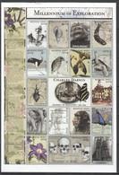 R303 MONGOL POST MILLENNIUM OF EXPLORATION CHARLES DARWIN 1809-1882 1SH MNH DAMAGED EDGES - Histoire