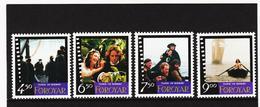 POL1894 DÄNEMARK - FÄRÖER 1997  Michl 322/25 Postfrisch SIEHE ABBILDUNG - Färöer Inseln