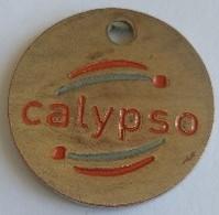 Jeton De Caddie - Calypso - Antargaz - En Métal - - Jetons De Caddies