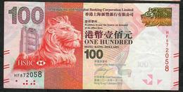 HONG-KONG P214c 100  DOLLARS 1.1.2013  #HF  HSBC XF NO P.h. - Hong Kong