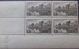 R1947/160 - 1942 - AIGUES-MORTES - N°501 (papier Jaunâtre) TIMBRES NEUFS** CdF Daté - 1940-1949