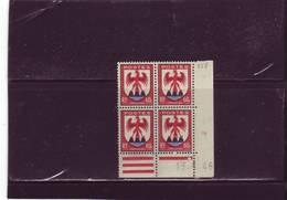 N°758 - 60c Blason De NICE - B De A+B - 1° Tirage Du 8.6.46 Au 18.6.46 - 13.06.1946 - - 1940-1949