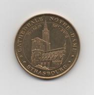 JETON TOURISTIQUE  . Monnaie De Paris . STRASBOURG CATHEDRALE N-D. 2002. - 2002