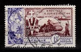AEF - YV PA 57 Oblitere Liberation Cote 9 Euros - Usados