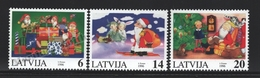 Lettonie – Latvia – Letonia 1996 Yvert 406-08, Christmas - MNH - Lettland