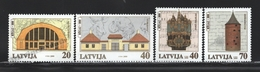 Lettonie – Latvia – Letonia 2000 Yvert 494-97, 8th Centenary If Riga (VI) Historical Monuments - MNH - Lettland