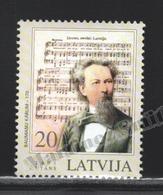 Lettonie – Latvia – Letonia 2005 Yvert 608, Music, Baumanu Karlis - MNH - Latvia