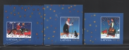 Lettonie – Latvia – Letonia 2005 Yvert 624-26, Christmas - MNH - Lettland