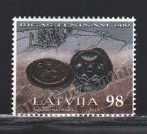 Lettonie – Latvia – Letonia 2011 Yvert 778, 800th Ann. Riga Pfenning, Coins - MNH - Lettonie