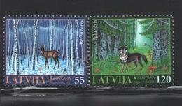 Lettonie – Latvia – Letonia 2011 Yvert 776-77, Europa Cept. Forests - MNH - Lettonie