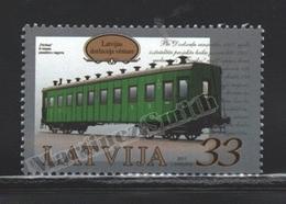 Lettonie – Latvia – Letonia 2011 Yvert 784, Transport, History Of The Latvian Railway, Trains - MNH - Lettonie