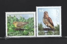 Lettonie – Latvia – Letonia 2011 Yvert 790-91, Fauna, Birds - MNH - Lettonie