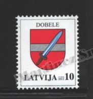 Lettonie – Latvia – Letonia 2012 Yvert 807, Definitive, Coat Of Arms Of Dobele - MNH - Lettonie