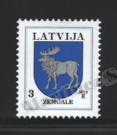 Lettonie – Latvia – Letonia 2012 Yvert 805, Definitive, Coat Of Arms Of Zemgale - MNH - Lettonie