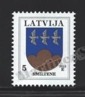 Lettonie – Latvia – Letonia 2012 Yvert 806, Definitive, Coat Of Arms Of Smiltene - MNH - Lettonie