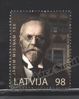 Lettonie – Latvia – Letonia 2012 Yvert 813, 150th Ann. Borth Of Janis Misins - MNH - Lettonie