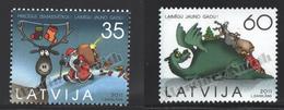 Lettonie – Latvia – Letonia 2011 Yvert 796-97, Christmas - MNH - Lettonie