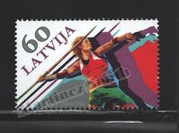 Lettonie – Latvia – Letonia 2012 Yvert 817, Sports, Javeline - MNH - Lettonie