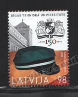 Lettonie – Latvia – Letonia 2012 Yvert 820, 150th Ann. Technical University Of Riga - MNH - Lettonie