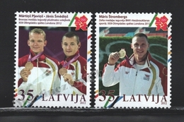Lettonie – Latvia – Letonia 2012 Yvert 825-26, Medallist At The London Summer Olympic Games - MNH - Lettonie