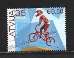 Lettonie – Latvia – Letonia 2013 Yvert 832, BMX, Tribute To The Latvian Athletes - MNH - Lettonie
