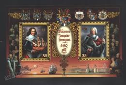 Lettonie – Latvia – Letonia 2012 Yvert BF 29, 450th Ann. Duque Of Courlande – Miniature Sheet - MNH - Lettonie
