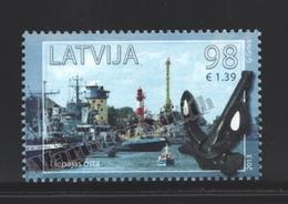 Lettonie – Latvia – Letonia 2013 Yvert 846, Port Of Liepaja, Ships - MNH - Lettonie