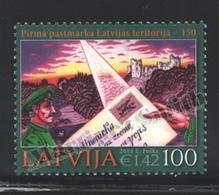 Lettonie – Latvia – Letonia 2013 Yvert 843, 150th Ann. First Latvian Stamp - MNH - Lettonie